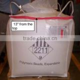 UV treated fabric pp jumbo bag/type-C bulk bag with low price and high quality/container bag