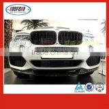 high quality carbon auto spare parts FOR BMW X5 X series MP Style 2014 front diffuser lip car bumper
