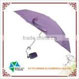 "18"" purple 5 fold ladies umbrella with shopping bag                                                                                         Most Popular"