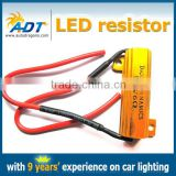 50W 6Ohm LED Load Resistors for LED Turn Signal Lights And LED License Plate Lights (Fix Hyper Flash, Warning Cancellor)