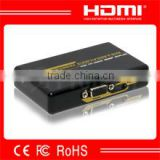 Top selling product in alibaba vga to hdmi converter with audio up scale to 720p to 1080p