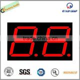 0.8 inch red Light 7 Segment Led Display Two Digit Common Cathode/Anode two digit led display