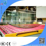 Curved tempered glass / curved bend tempered sheet glass /curved tempered glass for curtain wall