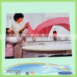 Printed unique design kitchen pp material cheap polypropylene placemat, place mat supplier and manufacture