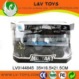Hot-selling plastic tank toy military vehicles friction car
