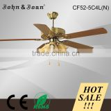 Modern Orient Decorative 52 Inch Electric Ceiling Fan