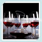 2016 handmade crystal decanter wine lead free glass wine mouth blowing decanter for sale