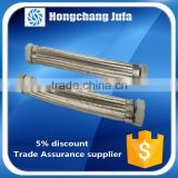 Heat resistant duct bellows flexible coolant accordion pipe