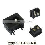 IEC 320 C8 industrial socket 2 pin male electric socket BX-180-A01