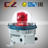 Explosion-proof aviation obstruction light fittings