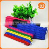 Recyclable cheap promotion gift zip pencil bag