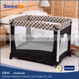 Multi-purpose Simple Style Folding Baby Playard/Playpen with Gate