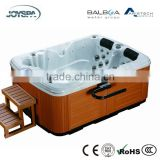 Small Freestanding Acrylic Rectangle Outdoor Beauty Spa Bath Tub for Two People JY8013
