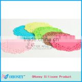 Advertising promotion gifts tableware silicone baking mat,silicone cup mat,cup mat holder
