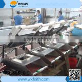 350 Tray/h Manual Tray Sealing Machine Packaging Machinery Manual Fast Food Sealer