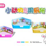 carnopet plastic rabbit stable toilets easy cleaing