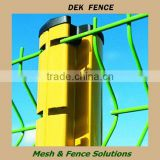 Fence ground anchor, metal green fence stakes, v shape fence post