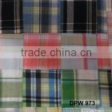 Madras Check Patchwork handmade pure fabrics For Dress
