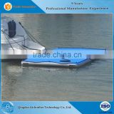 Durable Inflatable Floating Boat Swim Fishing Platform with Ladder