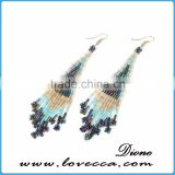 China jewelry supplier new arrival fashion beautiful tassel earring
