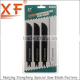 XF-D047 5PCS: Wood and Metal Cutting Double edge reciprocating saw blade,saber saw blade tool set