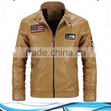2017 HIGH QUALITY FASHION BROWN REAL LEATHER JACKETS FOR WOMEN/LEATHER JACKET MADE IN PAKISTAN