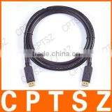 10 m cable HD line of high-end 24K gold plated head DP male to male line