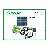 12W Solar Panel solar led home lighting system with Remote controller