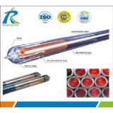 High quality 3 target magnertron sputtering all-glass evacuated solar collector tubes and solar vacuun tube