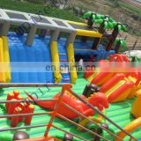 inflatable playground,inflatables,inflatable fun city fn018