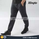 Custom Design Plain Black Men Gym Joggers Sweatpants Wholesale Fitness Joggers Pants