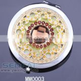 manufacturer wholesale crystal cosmetic mirror