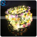 LED lighting garland Rose Flower for party