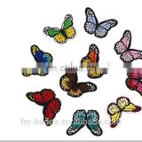Sew-On uniform embroidery patch for clothes,butterfly embroidery patch sew iron on patch