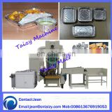 automatic aluminum foil container making machine food container machinery for sale 0086-15736766285