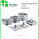 Wholesale Customed Package Restaurant & Hotel Supplies Stainless steel gastronorm pan set with lid