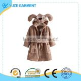 Unisex Baby Blanket Flannel Animals Hoodie Cloak Bathrobe Robe
