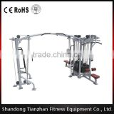 multifuctional exercise gym equipment/factory wholesale crossfit fitness machine//5 Multi-Station/tz-4009