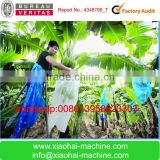 Plastic bag machine for bananas and vegetables