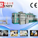 Advanced processing disposable plastic food container machine