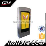 Smart HD wifi shopping mall supermarket touch screen floor stand 65 inch LCD advertising kiosk display