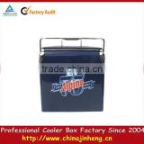 metal water carry cooler box