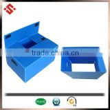 2014 PP foldable packaging box, collapsible corrugated plastic moving box
