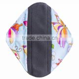 Wholesale New Female Bamboo Charcoal Menstrual Pad Cloth Sanitary Pad