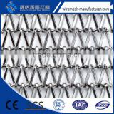 Decorated polished metal drapery metal coil drapery metal mesh curtain china supplier