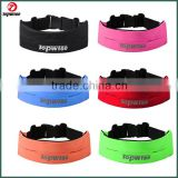 Custom reflective logo running belt adjustable Premium Running Belt & Fitness workout belt for iPhone 6 / 6 Plus & Android Smart