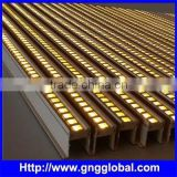 BEST PRICE! New Design DMX rigid led bar Clear/Frosted diffuser wall washer led 4in1 rgbw ip65