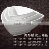 melamine lettuce bowl in serveral size for buffet