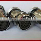 brass shell with plastic inner core kitchen Faucet aerator with swivel ball joint                                                                         Quality Choice