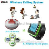wireless restaurant buzzer transmitter waiter smart watches guest pager guest paing system